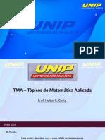 Aula 1 - Matrizes - TMA
