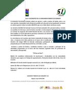 COMUNICADO DOCENTES A LA COMUNIDAD INEMITA 18 MAYO