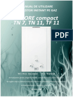 Calore Compact TN7 TN11 TF11 Manual Utilizare