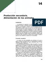 Cap. 14. Producción secundaria. Alimentación de los animales, pp.