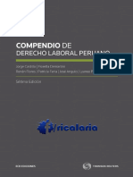 Compendio de Derecho Laboral Peruano