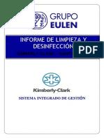 Informe de servicio Sanitización 02 KIMBERLY CLARK -SANTA CLARA 14-06-2020