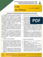 Boletim Farmacia Clinica SESDF - n.2 abr_2018 - cuidados na adm de med por sonda