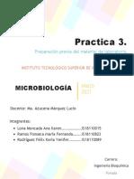 Practica #3 Microbiología.
