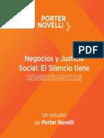 Estudio Justicia Social RRSS