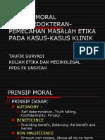 kaidah dasar bioetika 2014