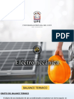 Balance Térmico UPE CDE 2021