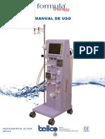 Manual de uso Bellco Formula Therapy