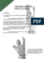 GOLPES A LOS PUNTOS DE TRONCO POR EL LATERAL