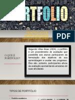 Apresentação Portifolio  com acessibilidade