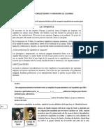 GUÍA CONQUISTADORES Y FUNDADORES DE COLOMBIA