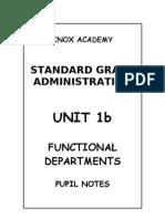 SGAD Unit 1b - Pupil Notes