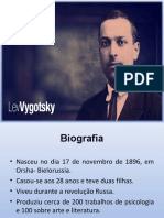 PIAGET x VIGOTSKY
