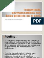 Estudio Acido Glicolico Para Acne