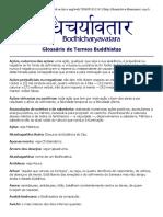 Glossário de Termos Buddhistas