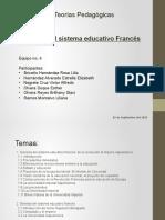 Génesis Sistema Educativo Francés