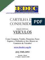 Cartilha do Consumidor - Site - 1ª Edição - Veículos