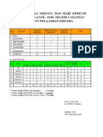 21 Minggu Efektif SMK 2020-2021