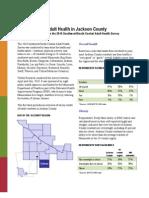 Jackson County Adult Health Survey Fact Sheet