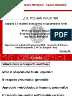 Impianti Meccanici M_modulo 3.1_Impianti di trasporto in sospensione fluida_v18