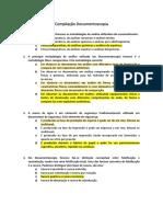 Compilação Documentoscopia