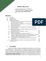 OPINIA PRAWNA Dotycząca Szczepień przeciw COVID 19