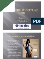 IPO Ingelec