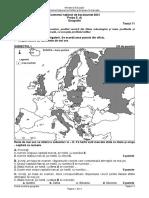 E d Geografie 2021 Test 11