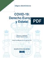 BOE-355 COVID-19 Derecho Europeo y Estatal