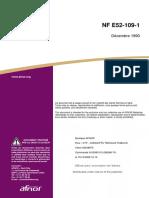 NF E52 109-1 FA020843 Levage et manutention Assemblages soudés