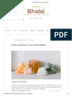 Calcita_ Significado, Usos e Propriedades