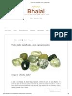 Pedra Jade_ Significado, Usos e Propriedades