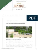 Feng Shui Para o Jardim_ Dicas e Princípios