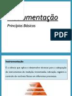 Características dos Instrumentos de Medição