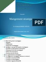 Cours de Management Stratégique I Selection