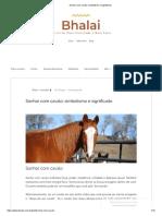 Sonhar Com Cavalo_ Simbolismo e Significado