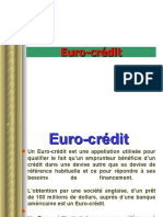 cours EURO CREDIT4