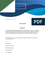 Carta Laboral Andres
