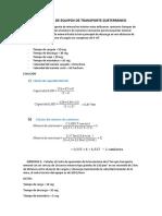 PRÁCTICA DIRIGIDA DE EQUIPOS DE TRANSPORTE SUBTERRÁNEO