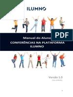 Manual do aluno - Conferências na Plataforma