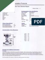 Ficha tecnica valvulas de aguja parker 4M-V4LK-SS