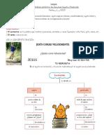 LENGUA ANALISIS SINTACTICO DE ORACIONES SUJETO Y PREDICADO  1