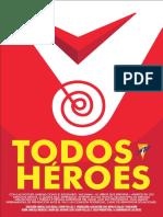 Afiche Corto Todos Héroes - Impacta