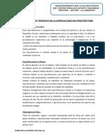 4.2. ESPECIFICACIONES ARQUITECTURA  - copia