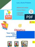 Presentación LEO Y SUMO PRIMERO
