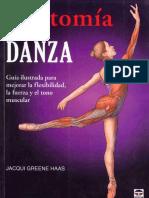 ANATOMIA DE LA DANZA - JACQUI GREENE HASS