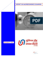 Report on Macroeconomics & Banking 061110