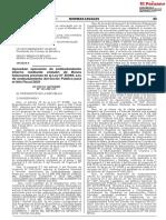 Aprueban operación de endeudamiento interno mediante emisión de Bonos Soberanos prevista en la Ley N° 31086, Ley de endeudamiento del Sector Público para el Año Fiscal 2021