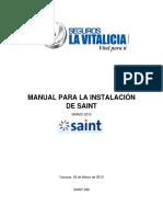 Manual Para La Instalación de Saint