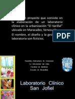 Elaboración de un Laboratorio Clínico